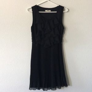 Ya Los Angeles Black Ruffle Dress